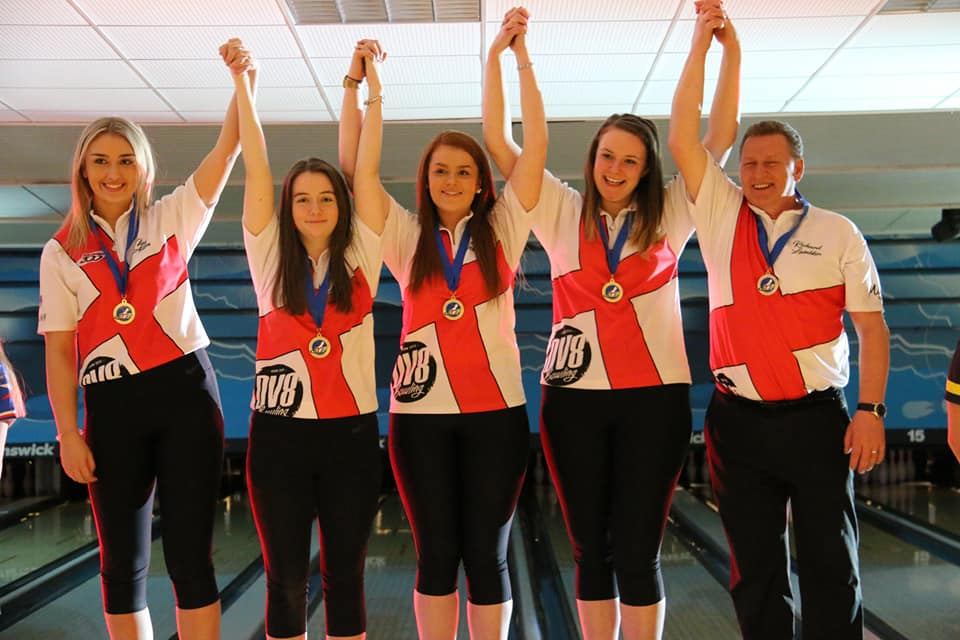 Team England Girls EYC Gold Medal