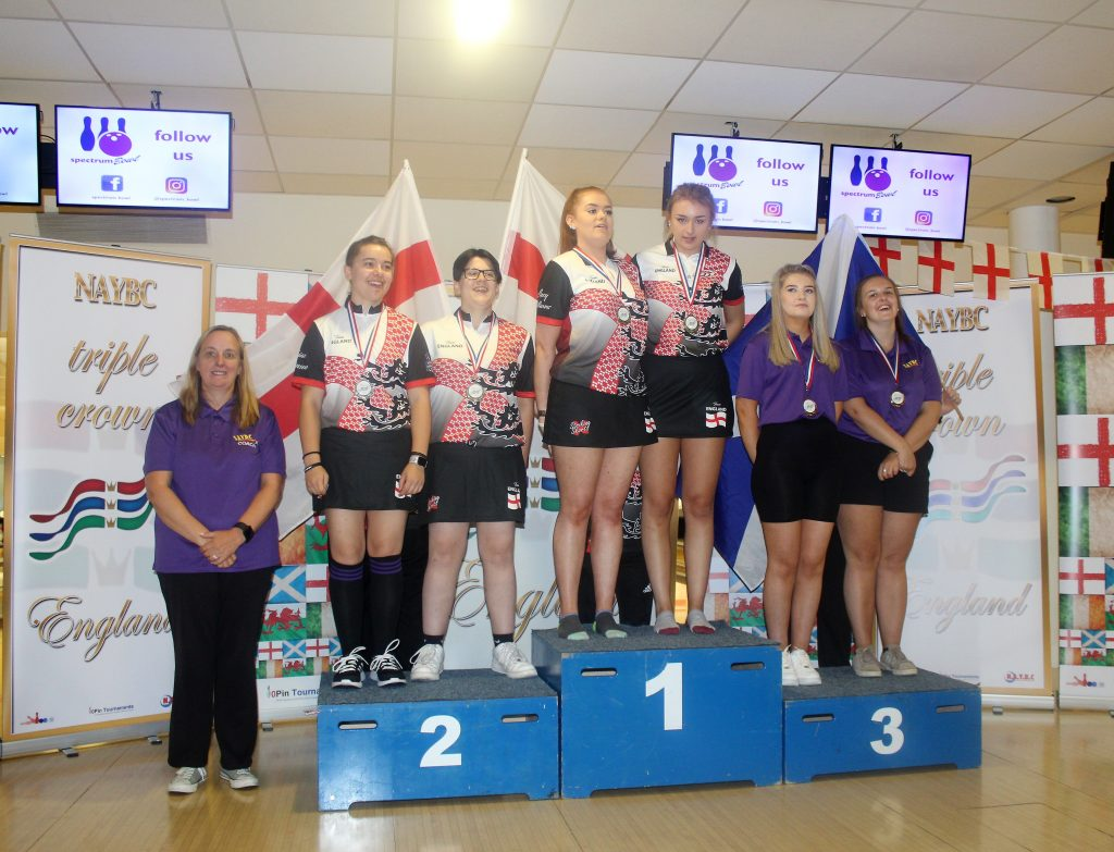 u18s Girls Doubles Medals Triple Crown