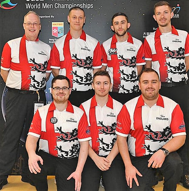Team England World Men's Championships 2018