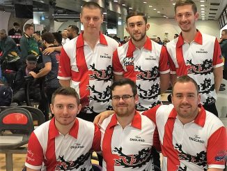 Team England at World Men's Championships