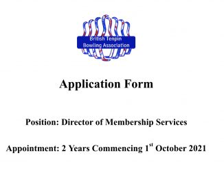Director of Membership Services Application 2021
